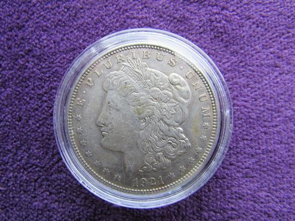 '21 Morgan Dollar Obverse